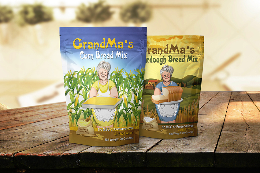Grandma's Corn Bread Mix